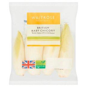 Waitrose limited selection baby chicory