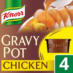 Knorr chicken 4 pack gravy pot