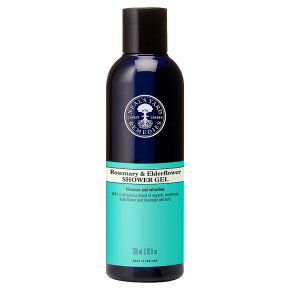 Neal's Yard rosemary & elderflower shower gel