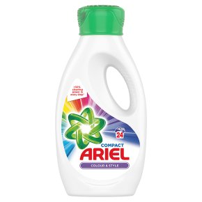 Ariel Actilift Colour & Style Bio Washing Liquid With Pre-treat Cap 24 Washes