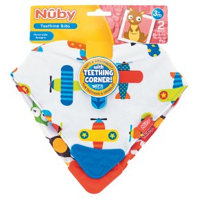 Nûby Bandana Teething Bibs