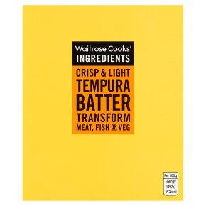 Waitrose Cooks' Ingredients tempura batter