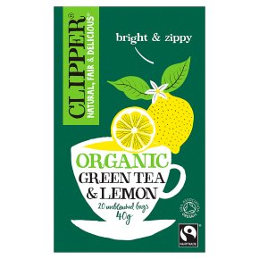 Clipper 20 Green Tea & Lemon