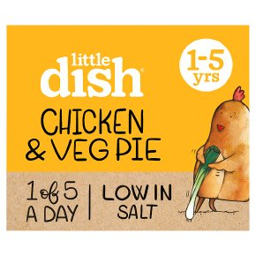 Little Dish Chicken & Veg Pie