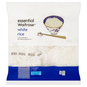 essential Waitrose white rice