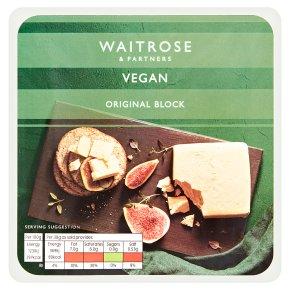 Waitrose Vegan Original Block
