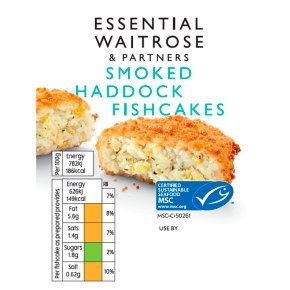 essential Waitrose Smoked Haddock Fishcakes