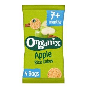 Organix Apple Rice Cakes