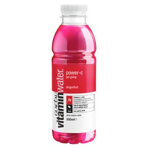 Glaceau Vitaminwater Power-C plastic bottle
