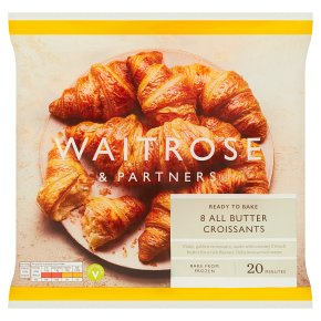 Waitrose 8 Butter Croissants