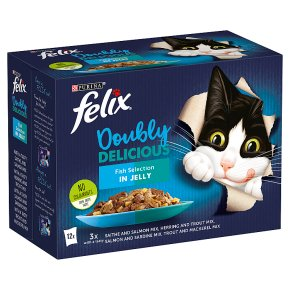 Felix Doubly Delicious Fish Selection in Jelly