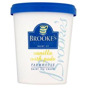 Brookes vanilla ice cream