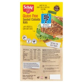 Schär Gluten Free Seeded CiabattaRolls