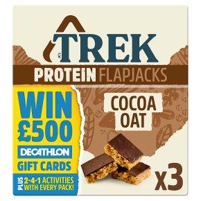 Trek Cocoa Oat 3 Protein Flapjacks