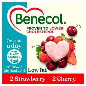 Benecol Low Fat Strawberry & Cherry