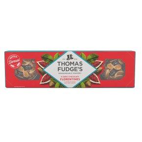 Thomas.J.Fudges decadent dark chocolate florentine