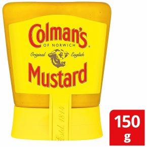 Colman's squeezable English mustard