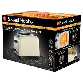 23334/RH Colours+ 2 Slice Toaster C