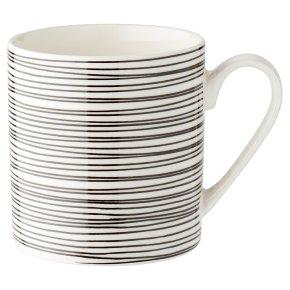 Waitrose Monochrome Stripe Mug