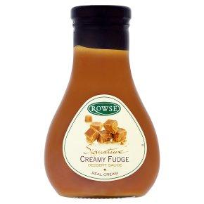 Rowse Creamy Fudge Dessert Sauce