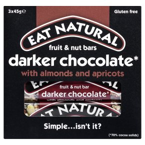 Eat Natural Bars Dark 70% Chocolate Almond & Apricots