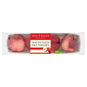 Waitrose White Flesh Nectarines