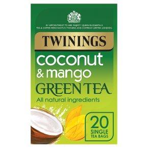 Twinings Mango & Coconut Green Tea