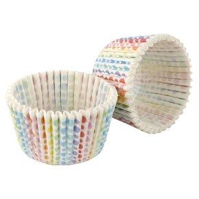 Tala rainbow graduated dot cupcake cases, pack of 32