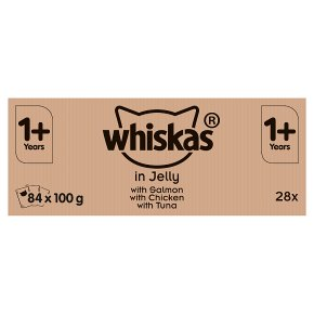 Whiskas 1+ Pouches in Jelly
