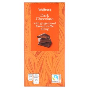 Waitrose Dark Chocolate with Gingerbread
