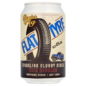 Rosie's Pig Flat Tyre Cloudy Fruit Cider Herefordshire