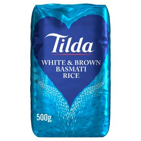 Tilda white & wholegrain basmati rice