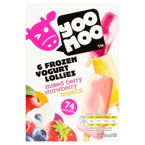 Yoo Moo frozen yogurt lollies