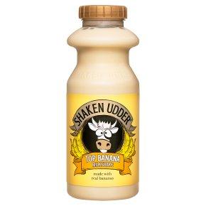 Shaken Udder top banana milkshake
