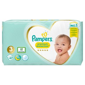 Pampers New Baby Size 3 Carry 50 Nappies