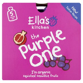 Ella's Kitchen Organic smoothie fruit the Purple One baby food