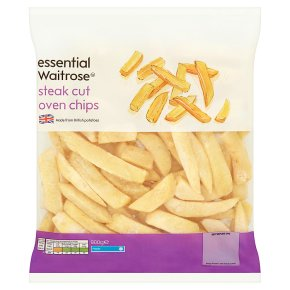 essential Waitrose steak cut oven chips