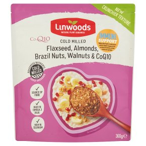 Linwoods Flaxseed Almonds Brazil & Q10