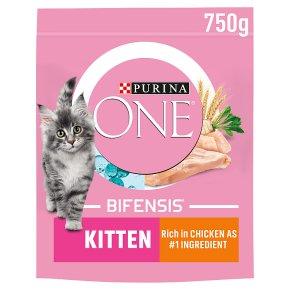 Purina ONE Kitten Dry Cat Food Chicken and Wholegrain