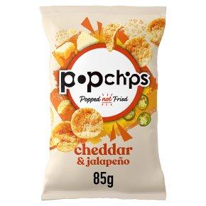 Popchips Cheddar & Jalapeño