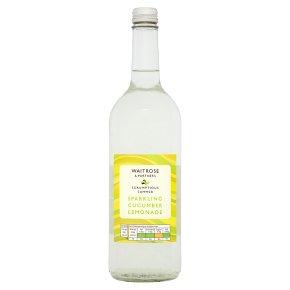 Waitrose Sparkling Cucumber & Lemonade Refresher