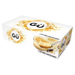 Gu 2 York cheesecakes