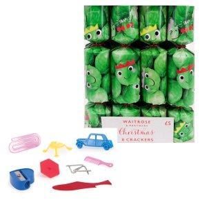 Waitrose Christmas Mini Sprout Crackers