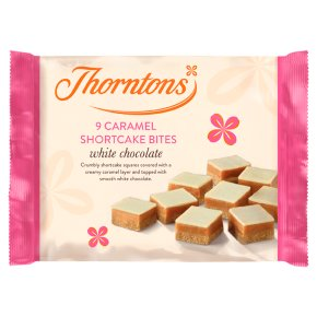 Thorntons White Choc Caramel Shortcake Bites