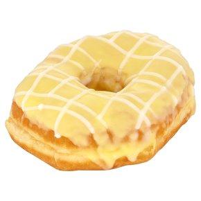 Lemon Iced Ring Doughnut