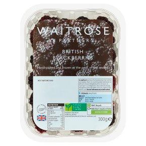 Waitrose British Blackberries