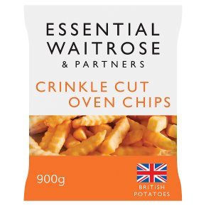 essential Waitrose Crinkle Cut Oven Chips