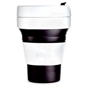 Stojo Collapsible Cup Black