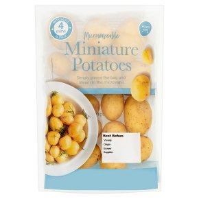 Microwaveable Miniature Potatoes