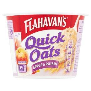 Flahavan's Quick Oats Apple & Raisin